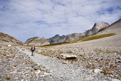 photo montagne alpes randonnée GR5 vanoise loza vallon