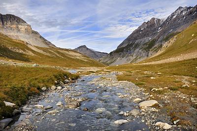 photo montagne alpes randonnée GR5 vanoise leisse