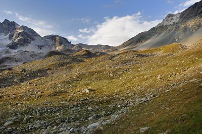 photo montagne alpes randonnée GR5 vanoise peclet polset col chaviere