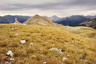 photo montagne alpes randonnée GR5 vanoise col chaviere