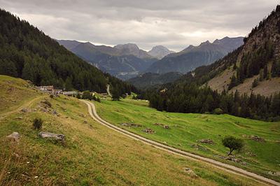 photo montagne alpes randonnée GR5 vanoise polset hameau village