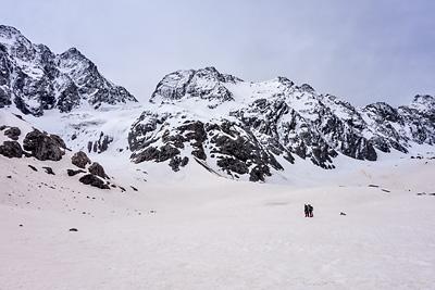 photo montagne alpes ecrins alpinisme grand parcours glacier chardon