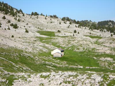 photo montagne alpes randonnée Vercors Grand Veymont bergerie jasse de peyre rouge