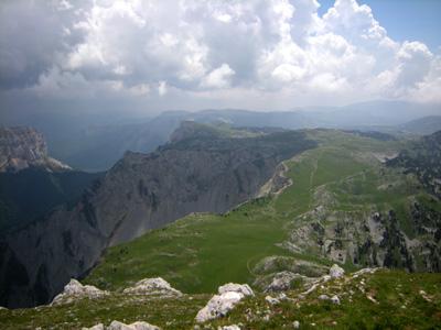 photo montagne alpes randonnée Vercors Grand Veymont Pas des Chattons