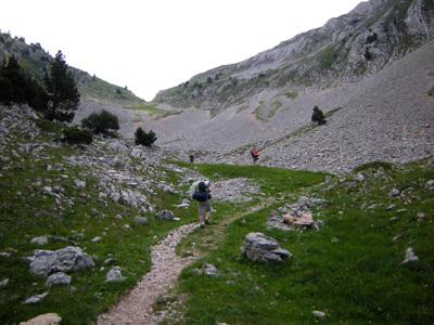 photo montagne alpes randonnée Vercors Grand Veymont Pas de la Ville