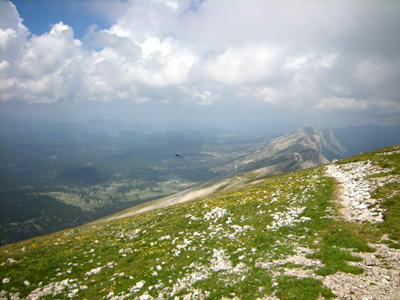 photo montagne alpes randonnée Vercors Grand Veymont crêtes