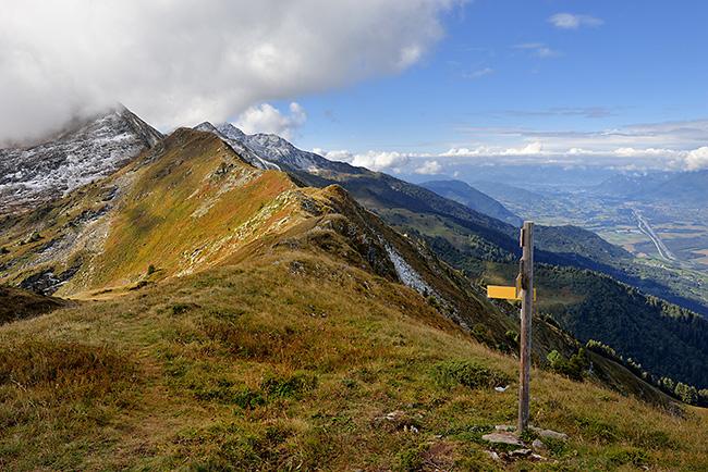photo montagne alpes randonnée rando savoie albertville lauzière grande lanche
