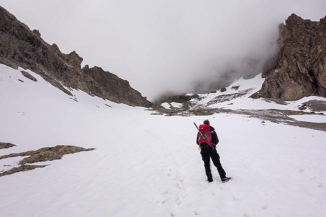 photo montagne alpes alpinisme ecrins grande ruine pointe brevoort voie normale