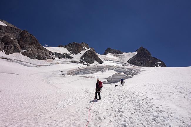 photo montagne alpes alpinisme ecrins grave y cimes glacier girose