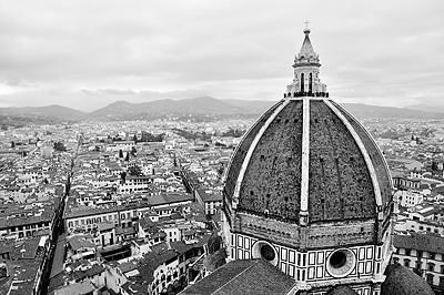 photo italie toscane toscana tuscany florence firenze cathedrale santa maria duomo panorama campanile