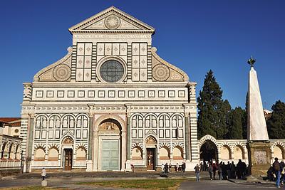 photo italie toscane toscana tuscany florence firenze basilique santa maria novella