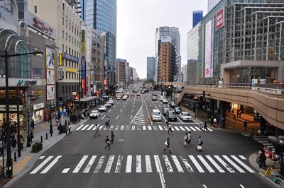 japon sendai rue
