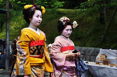 photo japon kyoto geishas
