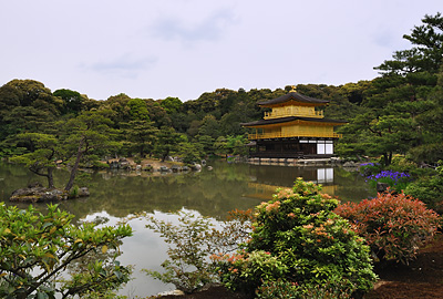 photo japon kyoto pavillon d'or kinkaku-ji