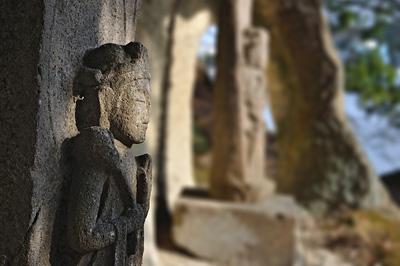 japon matsushima Ojima sculptures bouddhistes