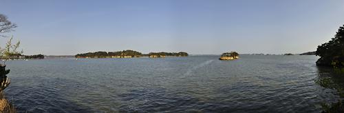 japon matsushima Ojima panorama