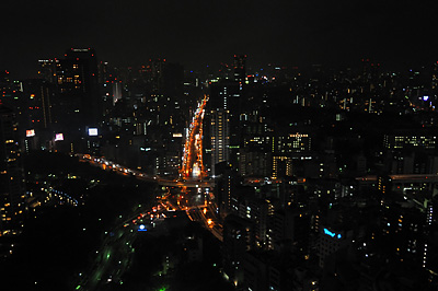 photo japon tokyo tower vue de nuit