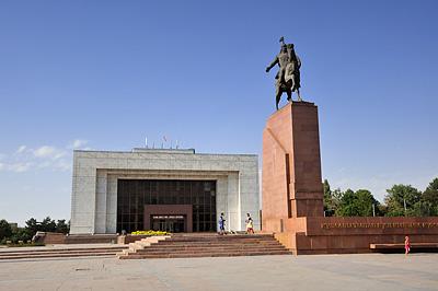 photo voyage asie centrale kirghizstan kirghizistan kirghizie kyrgyzstan bishkek place ala too manas
