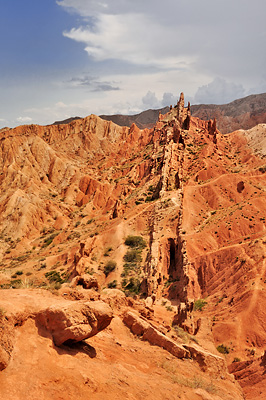 photo voyage asie centrale kirghizstan kirghizistan kirghizie kyrgyzstan bokonvaevo canyon skazka lac Ysyk-Köl Issyk-Kul Issyk-Köl