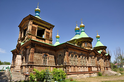 photo voyage asie centrale kirghizstan kirghizistan kirghizie kyrgyzstan karakol cathedrale