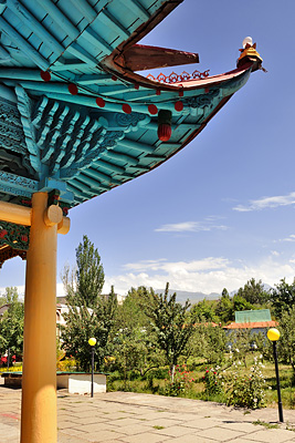 photo voyage asie centrale kirghizstan kirghizistan kirghizie kyrgyzstan karakol mosquee