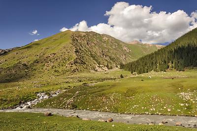 photo voyage asie centrale kirghizstan kirghizistan kirghizie kyrgyzstan karakol lac ala kol randonnee trek altyn arashan