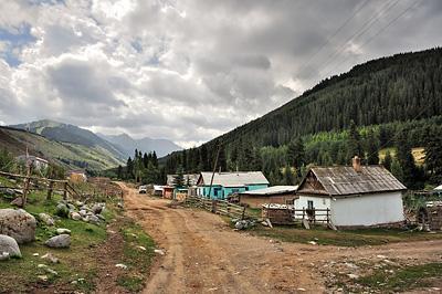 photo voyage asie centrale kirghizstan kirghizistan kirghizie kyrgyzstan karakol lac ala kol randonnee trek