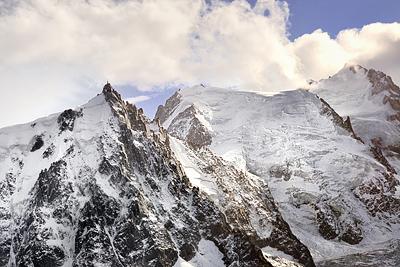 photo montagne alpes randonnée rando aiguilles rouges chamonix lac cornu aiguille midi mont blanc