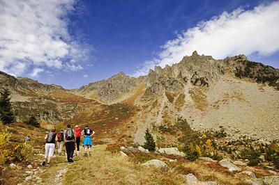 photo montagne alpes randonnée rando aiguilles rouges chamonix lac cornu