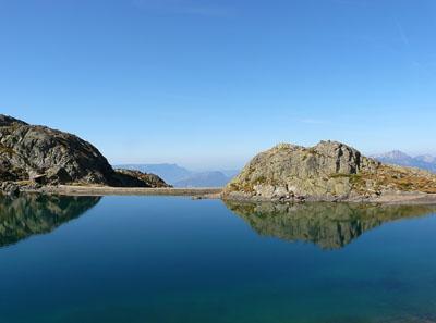 photo montagne alpes randonnée lac du crozet