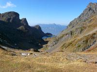 photo montagne alpes randonnée lac du crozet col de la Pra