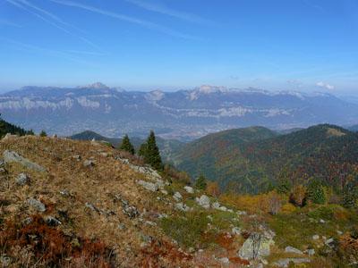 photo montagne alpes randonnée lac du crozet chartreuse