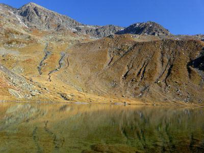 photo montagne alpes randonnée lac du crozet lac claret