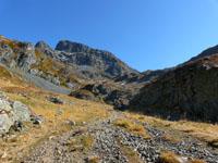 photo montagne alpes randonnée lac du crozet domenon