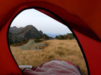 photo montagne alpes randonnée lac du crozet lac longet