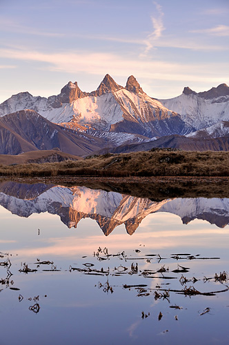 photo montagne alpes randonnee rando lac guichard aiguilles arves col croix fer