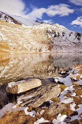 photo montagne alpes randonnée rando grandes rousses grave meije lac pontet