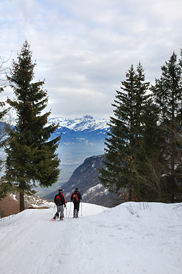 photo montagne alpes valais chablais lac tanay