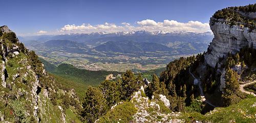 photo montagne alpes randonnée chartreuse aulp du seuil panorama