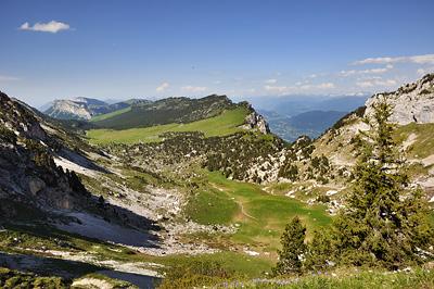 photo montagne alpes randonnée chartreuse aulp du seuil vallon marcieu plateau