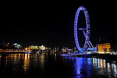 photo Londres London Eye