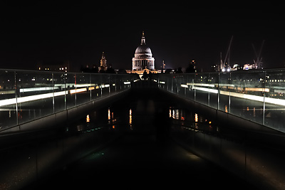 photo Londres St Paul depuis le Millenium Bridge