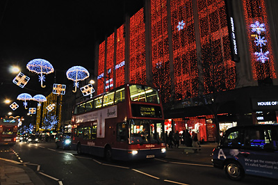photo Londres Oxford Street