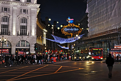 photo Londres Piccadilly Circus et Regent Street