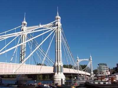 Londres Albert Bridge