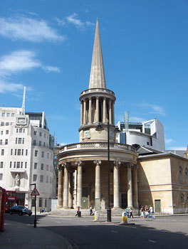 londres all souls church