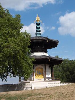 Londres Battersea Park Pagode de la Paix