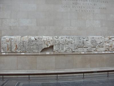 Londres British Museum Frise du Parthénon