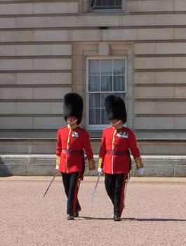 Londres Releve de la Garde