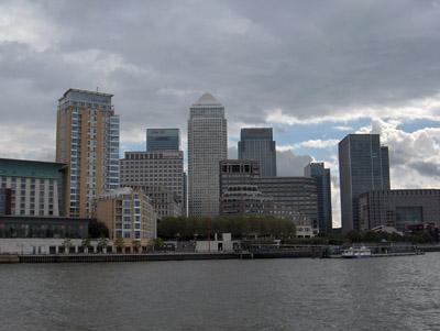 Londres Canary Wharf